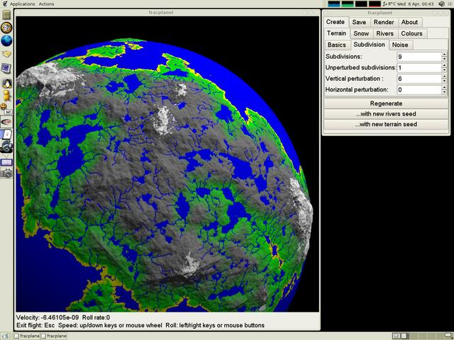 Screenshot of fracplanet