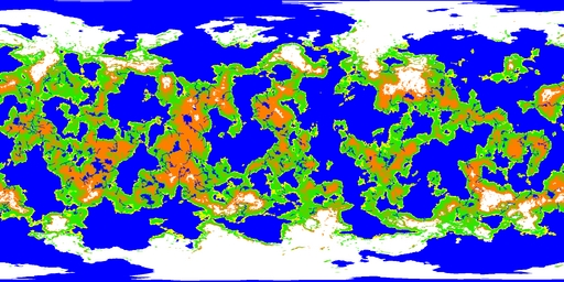 Unshaded spheremap